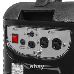 2000W Gas Portable Generator Quiet RV Home Camping 4-Stroke With Handle