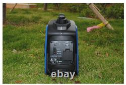 220V Portable Silent Camping Gasoline Power Inverter Generator Set 800W Y