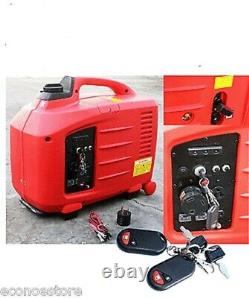 2700W REMOTE KEY START DIGITAL INVERTER RV GAS GENERATOR With EPA & CARB APPROVED