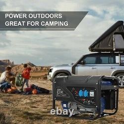 3000 Watt Gas Powered Portable Generator Engine For Jobsite RV Camping Standby