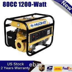 4-Stroke 80cc 1200-Watt Portable Power Gasoline Generator Quiet, CARB Compliant
