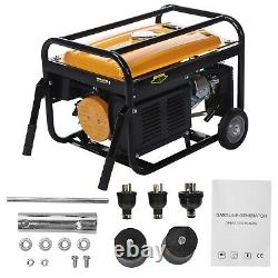 4200W Gasoline Generator Equipment Portable With Recoil Start And Wheel Kit USA