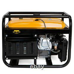 7HP 4000W Portable tailgates Gas Generator Engine 120v EPA Motor Jobsite Camp HD