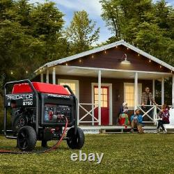 8750 W INVERTER Generator 120/240 QUIET 75dB ELECT START US/CANADA/AK/HI/PR