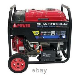 A-IPOWER 6,000 Watt Dual Fuel Gasoline Propane Generator Electric Start