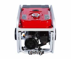 A-iPower 4500 Watt Gas Powered Generator With Portable Wheel kit 11 Hr Run Time