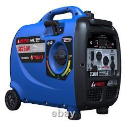 A-iPower Powered by Yamaha Portable Quiet Inverter Generator, 2300 W Peak