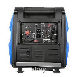 BILT HARD 4000W Quiet Inverter Generator Gas Portable RV Camping, Electric Start