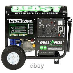 Beast Generator Duromax Portable Hybrid Gas Propane RV Home Standby Backup 18HP