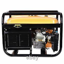 Best 4000 Watt Portable Emergency Gas Generator Engine 7.5HP 120V Recoil Start