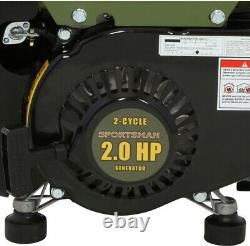 Best Portable Generator Oil Gas Mix Quiet Home RV Camping Power Small Appliance
