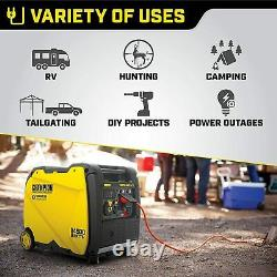 Champion 4500-W Portable RV Ready Gas Powered Inverter Generator with Remote Start