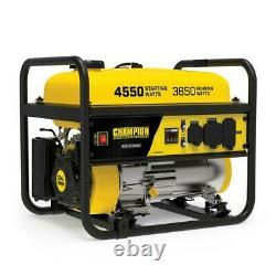 Champion Power Equipment 4550/3650-Watt Recoil Start Gasoline RV Ready Portable