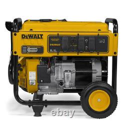 DeWALT 6500-Watt Portable Gas Generator (certified refurbished) DXGNR6500