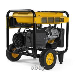 DeWALT 8000 Watt Electric Start Portable Generator (reconditioned) CO Protect