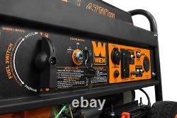 Dual Fuel Generator Electric Start Portable 4750 Watt Gasoline Propane Quiet LPG