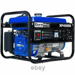 DuroMax XP4000S 4000-Watt 208cc Air Cooled OHV Gas Engine Portable RV Generator