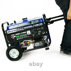 DuroMax XP5500EH 5000-Watt Electric Start Dual Fuel Hybrid Portable Generator