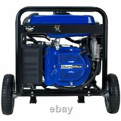 DuroMax XP5500EH 5500W Electric Start Dual Fuel Hybrid Portable Generator NEW
