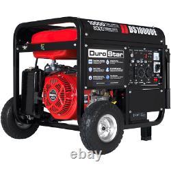 DuroStar DS10000E 10000-Watt 18-Hp Gas Generator with Electric Start and Wheel Kit