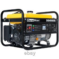 DuroStar DS4000S 4000-Watt 208cc Air Cooled OHV Gas Engine Portable RV Generator