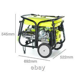 Electric Petrol Generator 9.5KW /11.5kVA Key Start Portable Power 7000K Bohmer