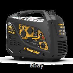 FIRMAN Portable Inverter Generator 2000w / 1600w Running W01681