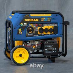 Firman 7500W Running / 9400W Peak Tri Fuel (GAS, LPG AND NG) PORTABLE GENERATOR