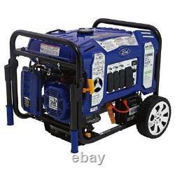 Ford 11,050 Watt Portable Dual Fuel Propane/Gas Generator Electric Start FG11