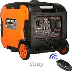 GENKINS 4500 Watt Portable Inverter Generator Electric Starter + Remote Control
