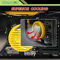 Gasoline Generator 3500W Pure Sine Wave Portable Single-Phase 110V
