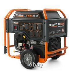 Generac 5802 XG10000E 10,000 Watt Electric Start Portable, 49 State