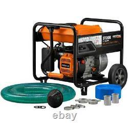 Generac 6822 208cc 158-Gpm 2-Inch Gas Powered Semi-Trash Water Pump