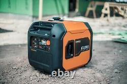 Generac 7127R iQ3500 3500 Watt Inverter Electric Start ULTRA QUIET 50 S