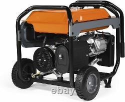 Generac 7676 10,000-W Portable RV Ready Gas Powered Generator with Electric Start