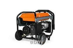 Generac 7676 GP8000E 8,000 Watt Electric Start Portable Generator, 50-ST