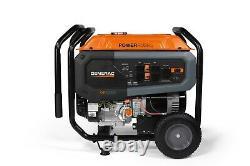 Generac 7686 GP8000E 8,000 Watt Electric Start Portable Generator, 49 ST/CSA