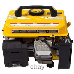Generator Gas Portable 1300 Watts Peak 1050W Running Gasoline Recoil Start New