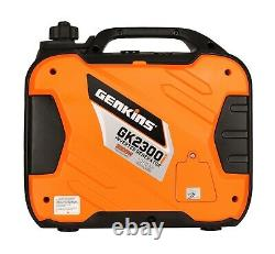 Genkins 2300 Watt Portable Inverter Generator Gas Powered Ultra Quite RV Ready