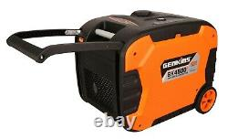 Genkins 4500 Watt Portable Inverter Generator Ultra Quiet 30 Amp RV Camping Rdy