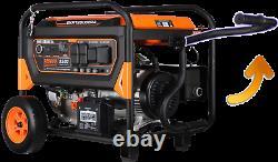 Genkins GKR12500ERA 12500 Watt Portable Generator Electric start remote control