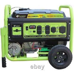Green-Power 12,000 Watt Dual Fuel Gasoline Propane Generator Electric Start