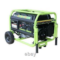 Green-Power America 5250 Watt Portable Dual Fuel Gas/Propane Generator GN5250DW