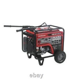 Honda 5,000 Watt Quiet GFCI Portable Gas Powered Backup Home Generator EB5000