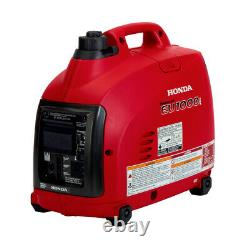 Honda 663510 EU1000i 1000 Watt Portable Inverter Generator with Co-Minder New