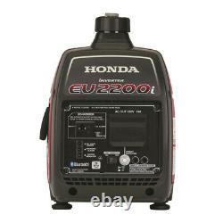 Honda 663520 EU2200i 120V 2200W 0.95 Gal. Portable Generator with Co-Minder New