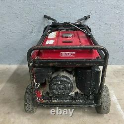 Honda EB6500X Portable Generator Gas