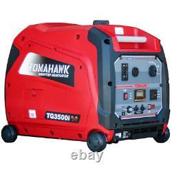 Inverter Generator 3500 Watt Super Quiet Portable Gas Power Residential Home Use