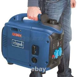 Inverter Generator Portable 2000 W Two Sockets 230v Scheppach Sg2000