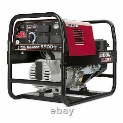 Lincoln Bulldog 5500 Stick Welder Generator with Cover (K2708-2 & K2804-1)